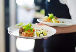 traiteur pour vos déjeuners - Diners à table